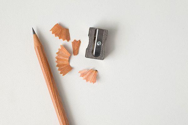 Bleistift und Spitzer
